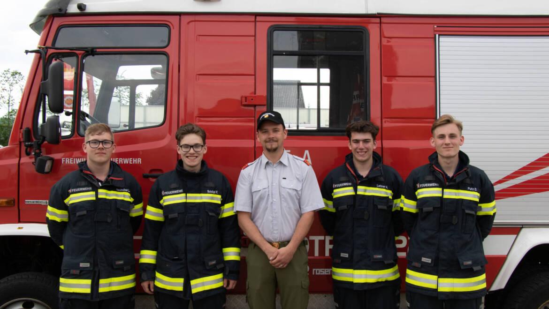 Drei neue Truppführer für die FF Neukirchen